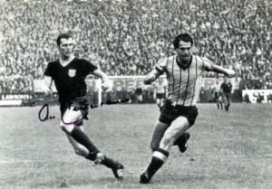 Ferdinand gegen Beckenbauer 1967 im Spiel Alemannia Aachen gegen Bayern München